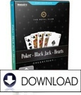 3er-Pack Poker-Black Jack-Hearts The Royal Club (DOWNLOAD)