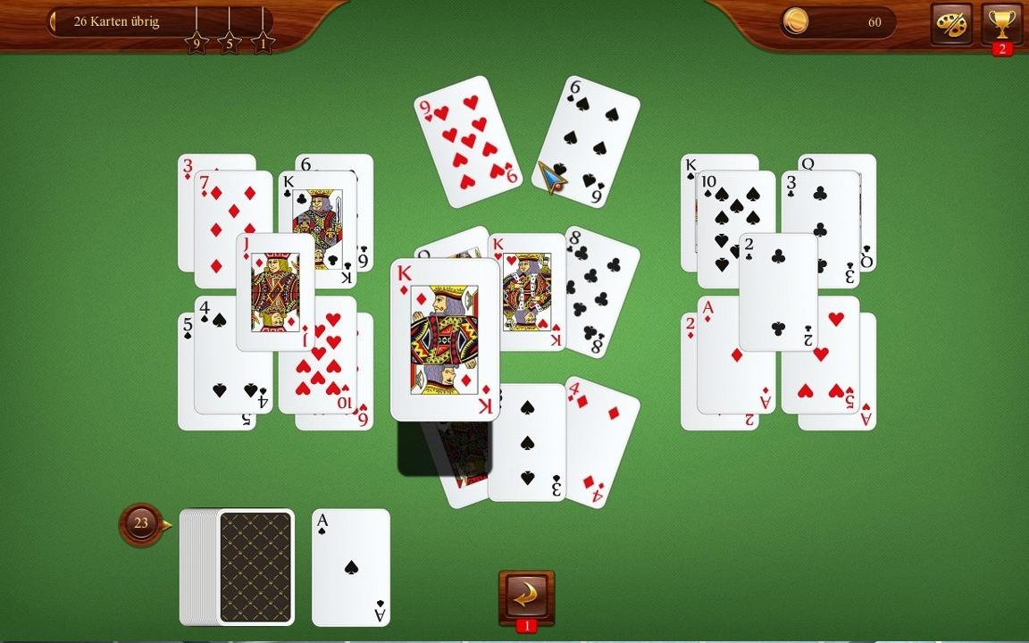 Verschiedene Kartenspiele